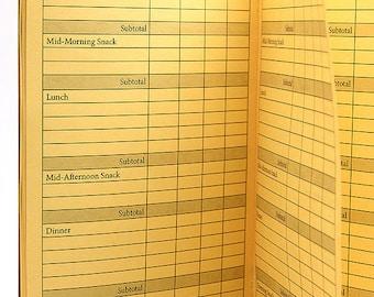 FOOD Journal Traveler's Notebook Insert  22 Colors - 8 Sizes