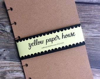 KRAFT Planner Paper fits Happy Planner & Levenger Circa size Planners - 20 sheets