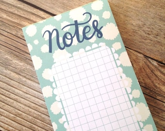 Notes Notepad - 3x8 inches - 40 sheets - Vertical