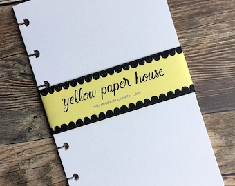 MIXED MEDIA Planner Paper fits Happy Planner & Levenger Circa size Planners