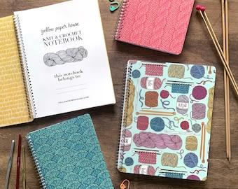 Spiral Knit & Crochet Notebook