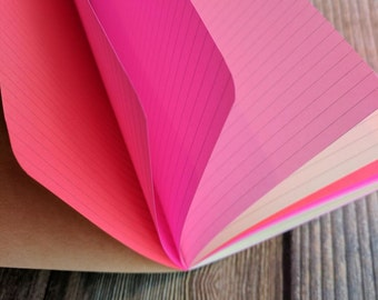 PEONY Traveler's Notebook Insert - Available in 8 sizes
