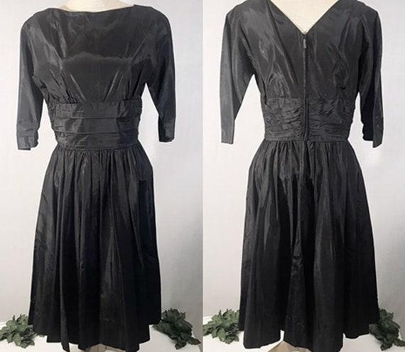 50s Dresses / Vintage 50s Jonathan Logan Satin Swi