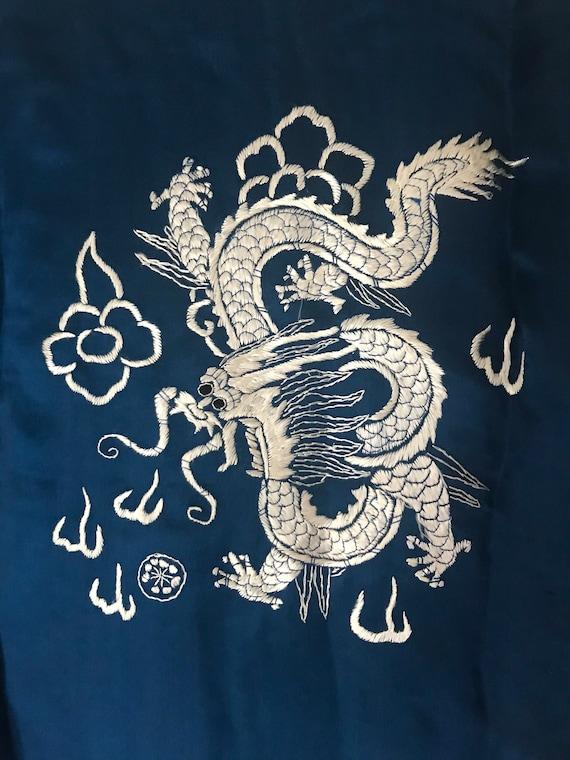 1930s sumptuous chinese silk charmeuse pajama lou… - image 6