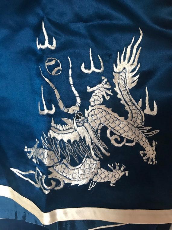 1930s sumptuous chinese silk charmeuse pajama lou… - image 7