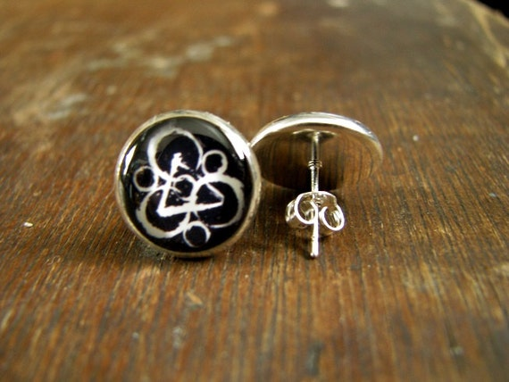 Coheed And Cambria Post Earrings USA MADE SHIPPED Silver
