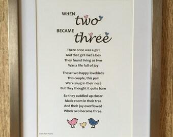 New Baby Poem Etsy