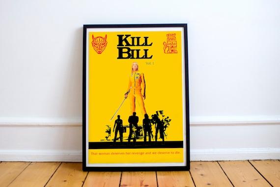 Movie Posters Kill Bill Volume 1 2003 Poster 1 Uma Etsy