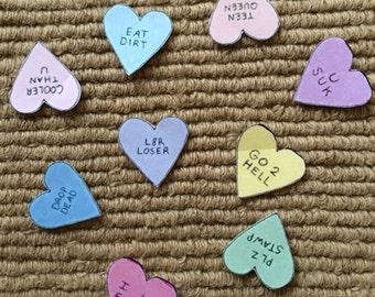 Tumblr Anti-love Hearts Sticker Pack