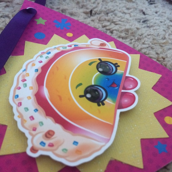 Shopkins Happy Birthday Party Banner NIP MUST HAVE FREE SHIPPING