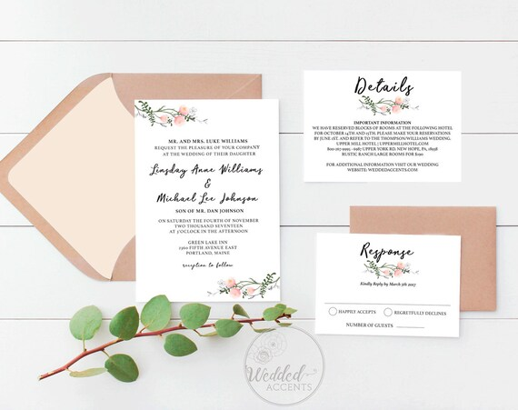 best of etsy wedding invitation templates for 31 printable wedding invitation templates etsy