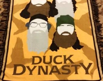 duck dynasty blanket