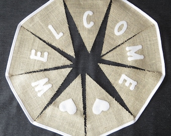 Wedding Bunting - Welcome - Made To Order - Several Colours