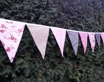 Wedding Bunting Per Metre - Vintage Style - Made To Order - Several Colours