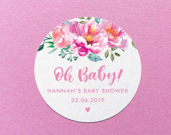 baby shower labels etsy