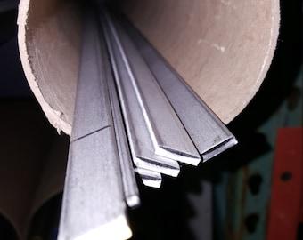 "1/8"" x 1/2"" Stainless Steel 304 Flat Bar x 48"" Long"
