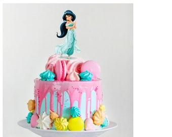 Jasmine Cake Topper Etsy