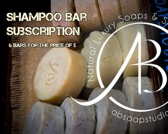 Shampoo bar subscription, Conditioning shampoo bars, Zero waste shampoo, Vegan hair care, Solid shampoo, Made in Ireland, Jojoba, Palm free