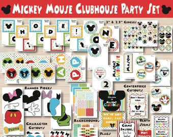 Mickey Mouse Party Decorations - Mickey Mouse Birthday -Mickey Mouse Birthday Decorations - Mickey Mouse Party - Mickey Mouse 1st Birthday