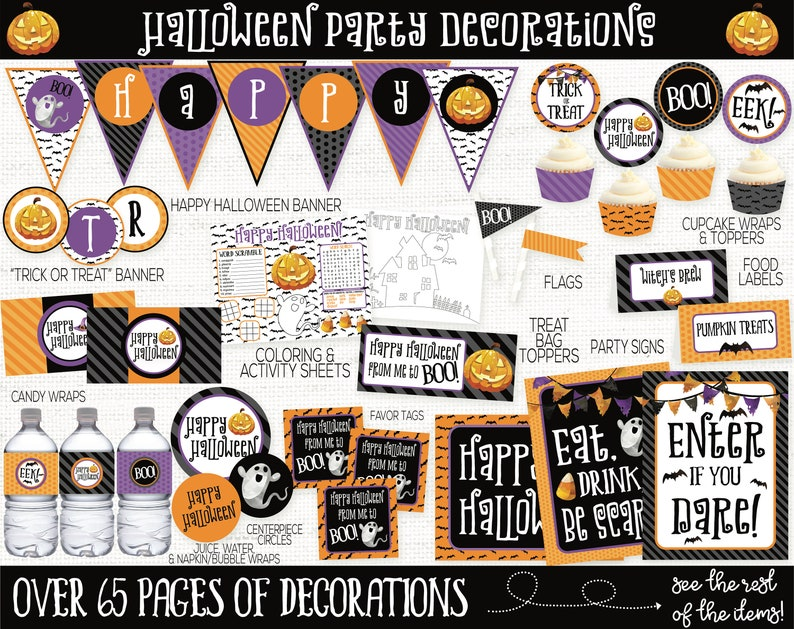 Halloween Party Decorations Halloween Party Supplies Kids image 0