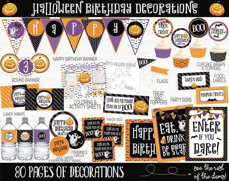 Halloween Birthday Party Decorations Halloween Party image 0