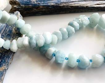 dainty layering bracelets Blue topaz and serpentine layering bracelets -Stacking bracelet set green and blue faceted gemstone jewelry
