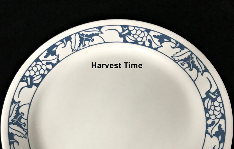 """Corelle """"Harvest Time"""" Replacement Dinner Plates Priced EACH"""