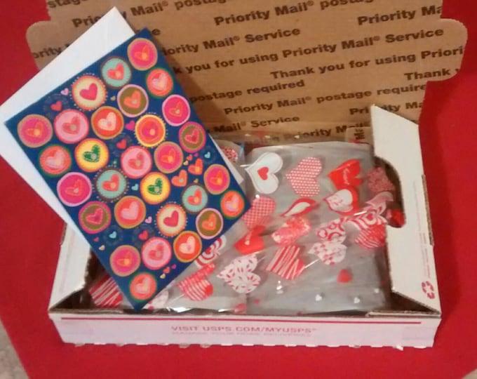 Featured listing image: 1 lb Artisanal Fudge Box Gift *Free Shipping*, Fudge Gift, Valentine's Fudge Gift