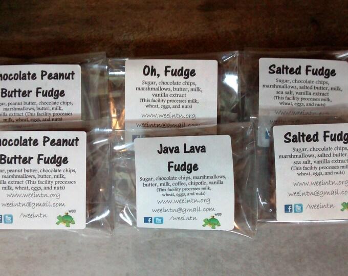 Fudge Sampler, Fudge Squares Party Pack, Fudge Variety Party Sampler