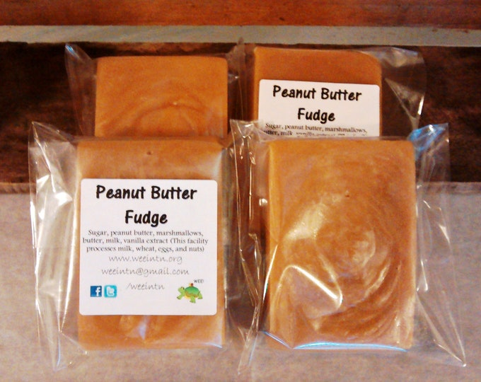 Featured listing image: Peanut Butter & Chocolate Peanut Butter Fudge *Free Shipping*