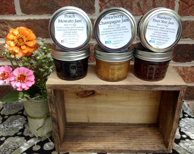 Miniature Cordial Jam Trio Gift *Free Shipping* Artisan Gift