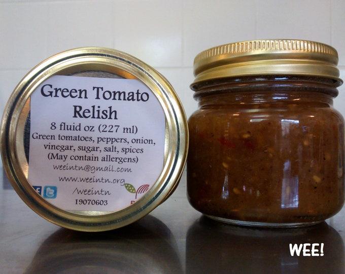 Green Tomato Relish 8 oz