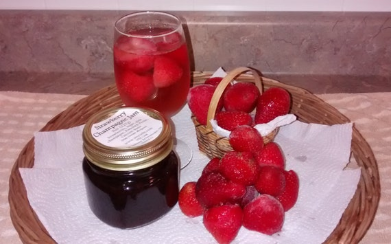 Strawberry Jam, Blueberry Jam, Peach Jam, Strawberry Preserves, Blueberry Preserves, Strawberry Champagne, Pinot Noir, Peach Schnapps, Jelly