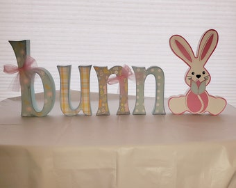 Easter Bunny wood craft/decor