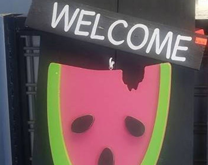 Interchangeable Welcome/Home Sign Board