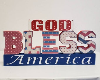 God Bless America craft