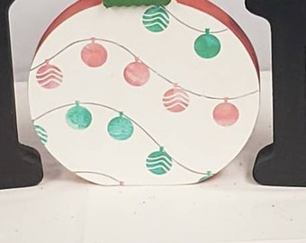 Interchangeable Christmas Ball Home Piece