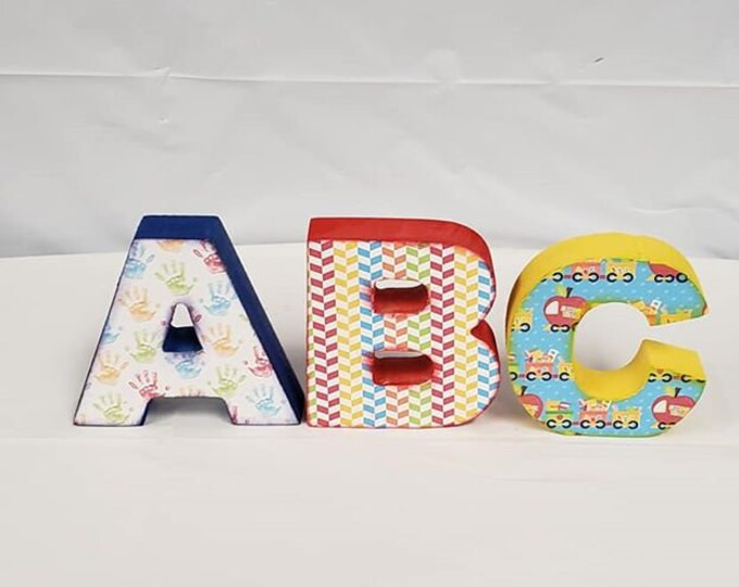School ABC Letters