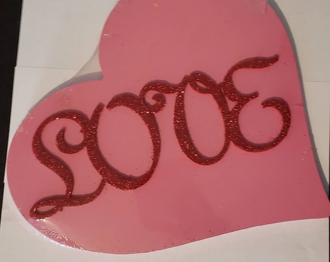 Valentines Heart Interchangeable Wood Welcome/Home Sign Shapes