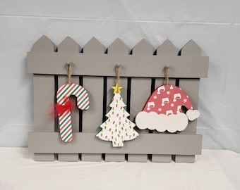 Interchangeable Christmas Fence kit