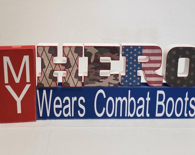 MY Hero wears combat boots Craft