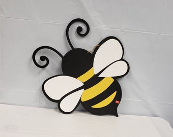Bumblebee  Door Hanger wood