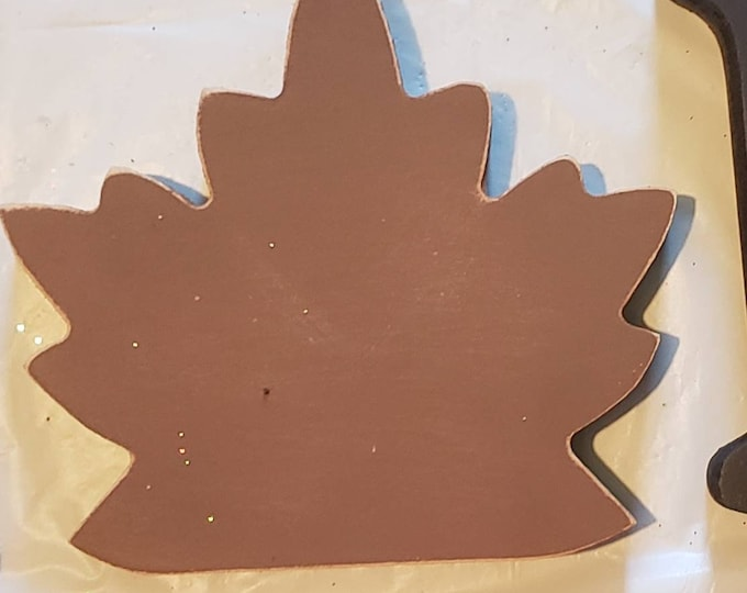 Fall leaf Interchangeable Home kit piece