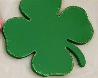 St. Patrick's day Interchangeable Wood Welcome/Home Sign Shapes