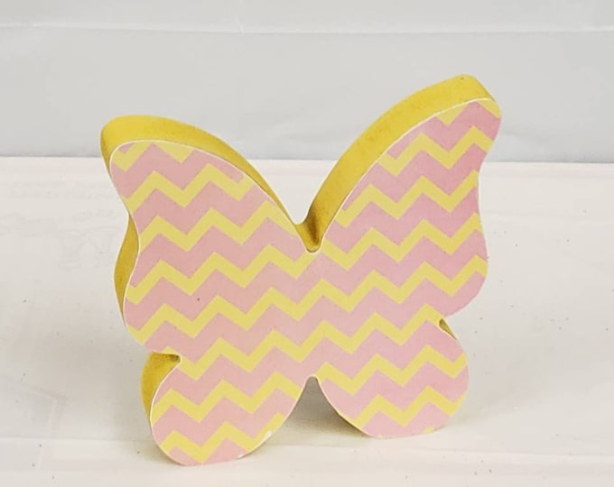 Spring Butterfly wood craft