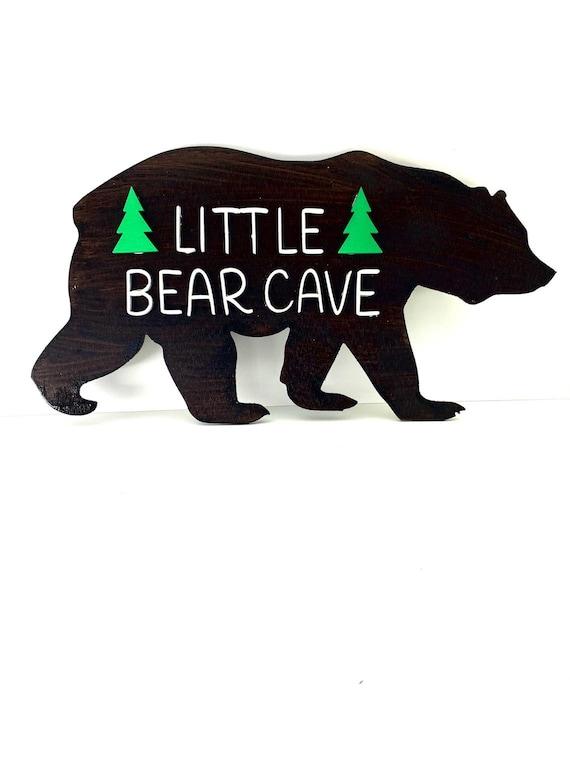 Personalized Wood Bear