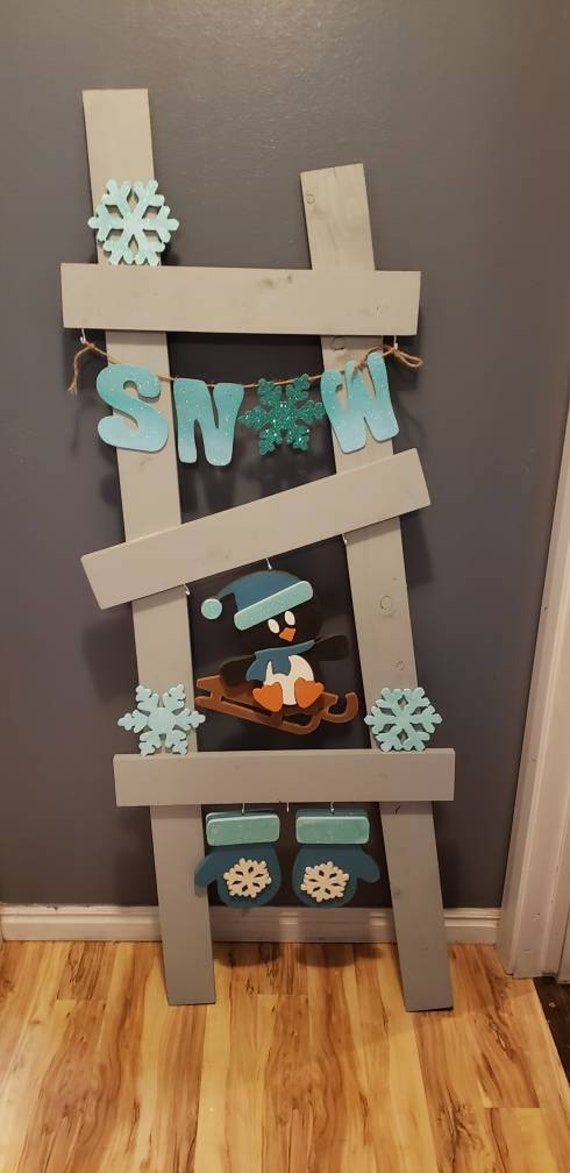 Interchangeable ladder winter/January kit only