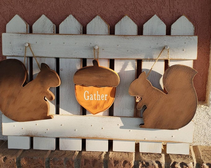 Interchangeable Fall squirrels Fence kit