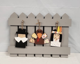 Interchangeable Thanksgiving Fence kit