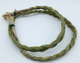 Sweet Grass Braid - Sacred Smoke - Natural Smudging Herbs